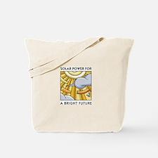 Solar Power for a Bright Future Tote Bag