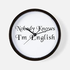 The English Wall Clock