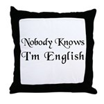 The English Throw Pillow