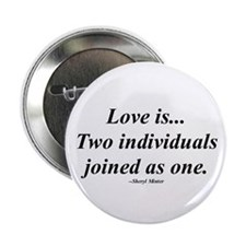 """Love is... 2.25"""" Button (10 pack)"""
