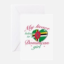 Dominican Valentine's designs Greeting Card