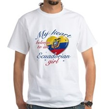 Ecuadorian Valentine's designs Shirt