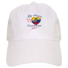 Ecuadorian Valentine's designs Baseball Cap