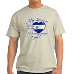El Salvadorian Valentine's designs Light T-Shirt