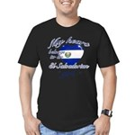 El Salvadorian Valentine's designs Men's Fitted T-