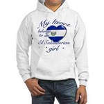 El Salvadorian Valentine's designs Hooded Sweatshi
