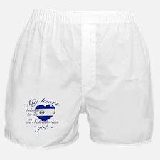 El Salvadorian Valentine's designs Boxer Shorts