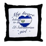 El Salvadorian Valentine's designs Throw Pillow