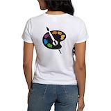 Artist palette Women's T-Shirt