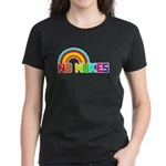 No Nukes, Anti Nuclear, Prote Women's Dark T-Shirt
