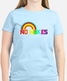 No Nukes, Anti Nuclear, Prote T-Shirt