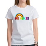 No Nukes, Anti Nuclear, Prote Women's T-Shirt