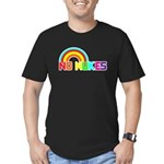 No Nukes, Anti Nuclear, Prote Men's Fitted T-Shirt
