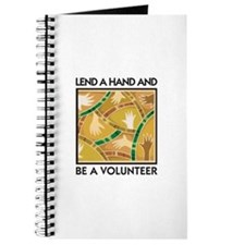 Lend a Hand and Be a Volunteer Journal
