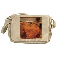 Frederic Leighton Flaming June Messenger Bag