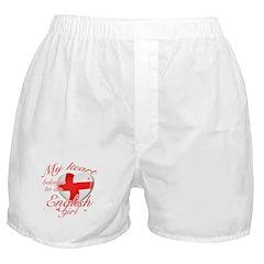 English Valentine's designs Boxer Shorts