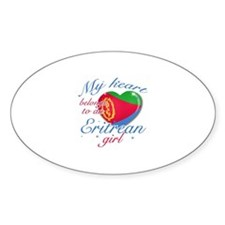 Eritrean Valentine's designs Decal
