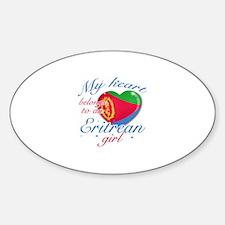Eritrean Valentine's designs Decal