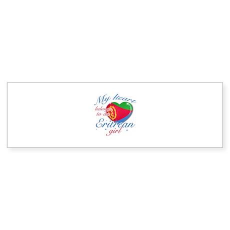 Eritrean Valentine's designs Sticker (Bumper)