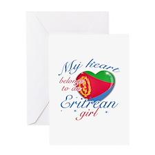 Eritrean Valentine's designs Greeting Card