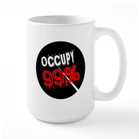 99 Percent Large Mug