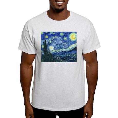 Van Gogh Starry Night Light T-Shirt