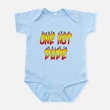 One Hot Dude Infant Bodysuit
