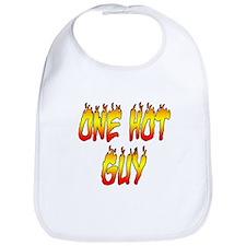 One Hot Guy Bib