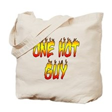 One Hot Guy Tote Bag