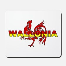 Wallonia Rooster (Des. #1) Mousepad