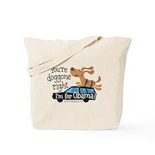 Doggone Right Tote Bag