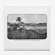 Suva History Tile Coaster