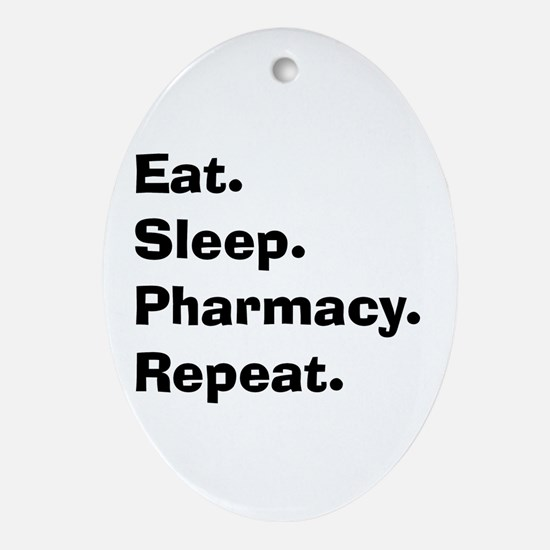 Pharmacist Humor Ornament (Oval)