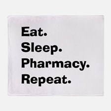 Pharmacist Humor Throw Blanket