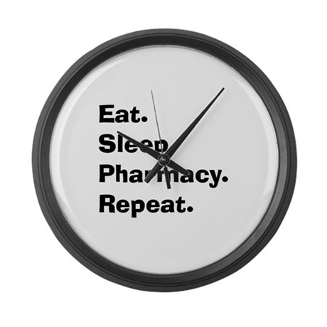 Pharmacist Humor Large Wall Clock