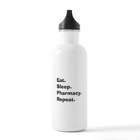 Pharmacist Humor Stainless Water Bottle 1.0L