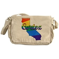 Cortez, California. Gay Pride Messenger Bag