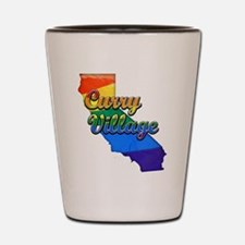 Curry Village, California. Gay Pride Shot Glass