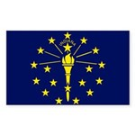 Indiana Sticker (Rectangle 10 pk)
