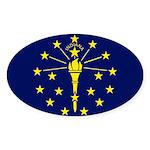 Indiana Sticker (Oval 10 pk)
