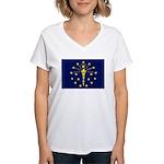 Indiana Women's V-Neck T-Shirt