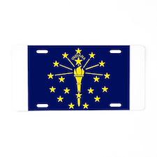 Indiana Aluminum License Plate