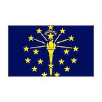 Indiana 38.5 x 24.5 Wall Peel