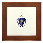 Massachusetts Framed Tile