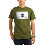 Massachusetts Organic Men's T-Shirt (dark)