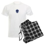 Massachusetts Men's Light Pajamas