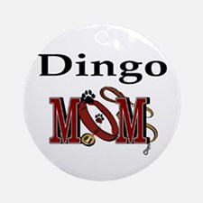 Dingo Mom Ornament (Round)