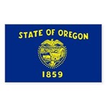 Oregon Sticker (Rectangle 50 pk)