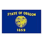 Oregon Sticker (Rectangle 10 pk)