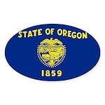 Oregon Sticker (Oval 10 pk)